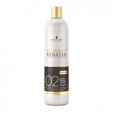 Schwarzkopf Professional Supreme Keratin Infusion - Молочко для кератинизации волос, 480мл