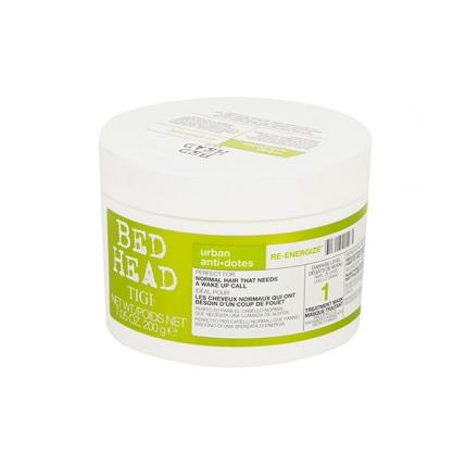 Tigi Bed Head Urban Anti+dotes Re-Energize - Маска-энергетик для нормальных волос уровень 1, 200мл