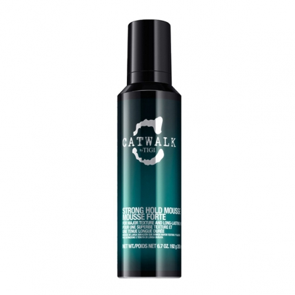 Tigi Catwalk Strong Hold Mousse - Мусс для вьющихся волос, 200мл