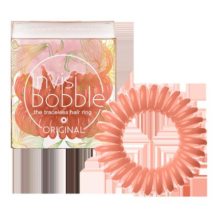 Invisibobble ORIGINAL Sweet Clementine - Резинка-браслет для волос, коралловая, 3шт
