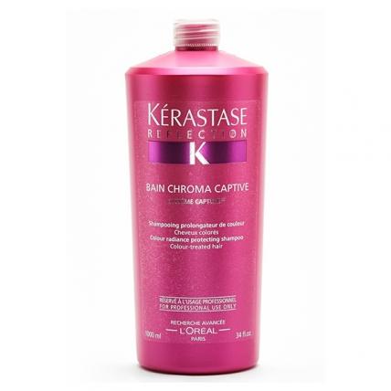 Kerastase Chroma Captive - Шампунь-ванна для сохранения цвета окрашенных волос, 1000мл