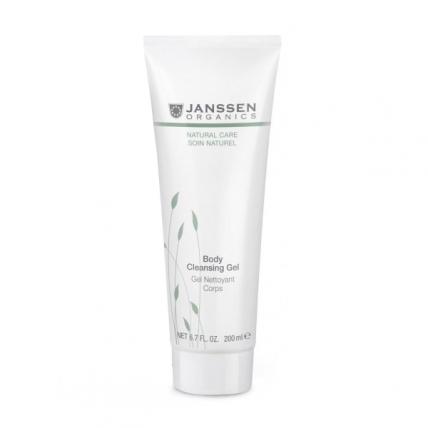 Janssen Organics Body Cleansing Gel - Гель очищающий и увлажняющий для тела, 200мл