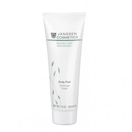 Janssen Organics Body Peel - Пилинг для выравнивания рельефа кожи тела, 200мл