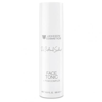 Janssen Dr. Roland Sacher Face Tonic + Pcm-Complex Anti-age - Тоник обогащенный с PCM-комплексом, 500мл