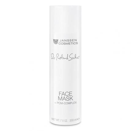 Janssen Dr. Roland Sacher Face Mask + PCM-Complex - Крем-маска люкс для лица с PCM-комплексом, 200мл