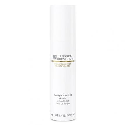 Janssen Skin Regeneration Anti-Age De-Age&Re-Lift Cream - Крем лифтинг (SPF-12), 50мл