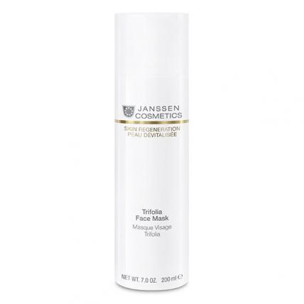 Janssen Skin Regeneration Anti-Age Trifolia Face Mask - Маска с фитоэстрогенами и гиалуроновой кислотой, 200мл