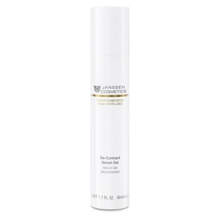 Janssen Skin Regeneration Anti-Age De-Contract Serum Gel - Гель-миорелаксант, 50мл