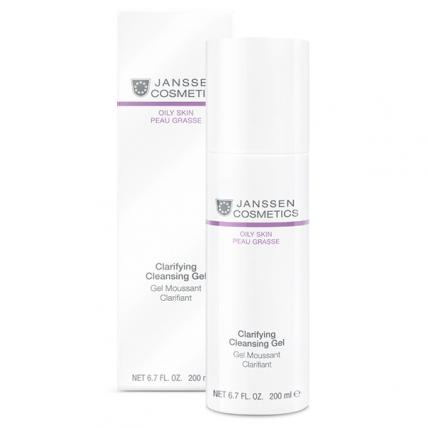 Janssen Cosmetics Oily Skin Clarifying Cleansing Gel - Гель очищающий, 200мл
