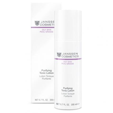 Janssen Cosmetics Oily Skin Purifying Tonic Lotion - Тоник для жирной кожи и кожи с акне, 200мл