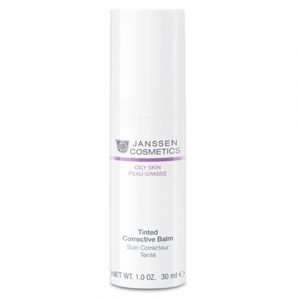 Janssen Cosmetics Oily Skin Tinted Corrective Balm Medium - Бальзам-консиллер себорегулирующий, 30мл