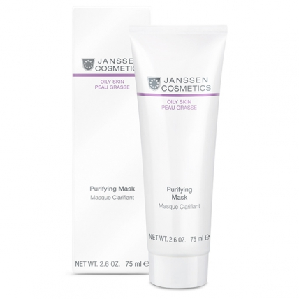 Janssen Cosmetics Oily Skin Purifying Mask - Маска себорегулирующая очищающая, 75мл
