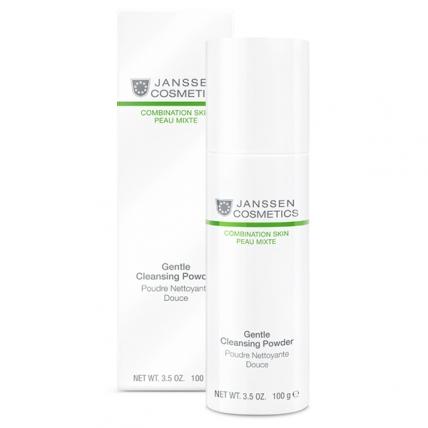 Janssen Cosmetics Combination Skin Cosmetics Gentle Cleansing Powder - Пудра мягкая очищающая, 100мл
