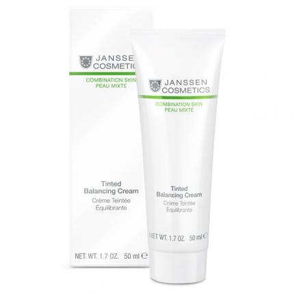 Janssen Cosmetics Combination Skin Tinted Balancing Cream - Крем для лица балансирующий с тонирующим эффектом, 50мл