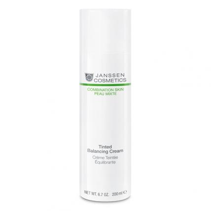 Janssen Cosmetics Combination Skin Tinted Balancing Cream - Крем для лица балансирующий с тонирующим эффектом, 200мл