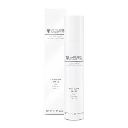 Janssen Cosmetics All Skin Needs Photo-Ageing Face Guard - Основа солнцезащитная (oil-free) под дневной крем (SPF-15), 50мл
