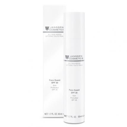 Janssen Cosmetics All Skin Needs Face Guard - Основа солнцезащитная (oil-free) под дневной крем (SPF-30), 50мл