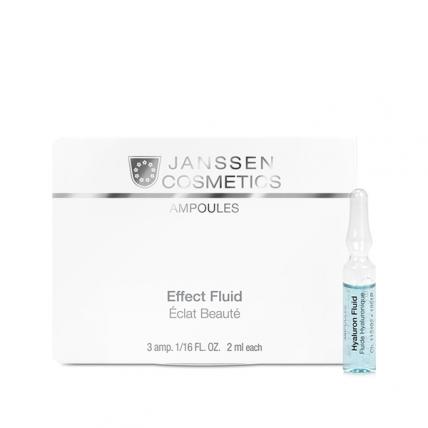 Janssen Cosmetics Ampoules Hyaluron Fluid - Сыворотка ультраувлажняющая, 3*2мл