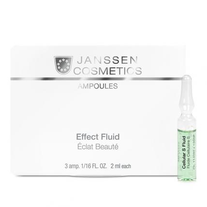 Janssen Cosmetics Ampoules Cellular S Fluid - Сыворотка в ампулах для клеточного обновления, 3*2мл