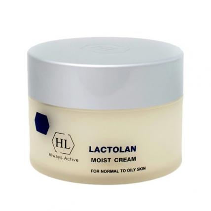 Holy Land Lactolan Moist Cream For Oily Skin - Крем увлажняющий для жирной кожи, 250мл