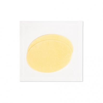 Janssen Cosmetics Derma Fleece Collagen Eye Contour Pad-egg - Коллаген для глаз, с эластином (овалы), лимонные овалы