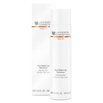 Janssen Cosmetics Dry Skin Eye Make Up Remover - Лосьон для удаления макияжа с глаз, 100мл