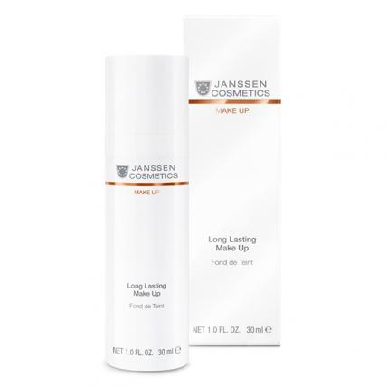 """Janssen Cosmetics Long Lasting Make-Up """"Ivory"""" - Тональный крем с SPF-12 (слоновая кость), 30мл"""