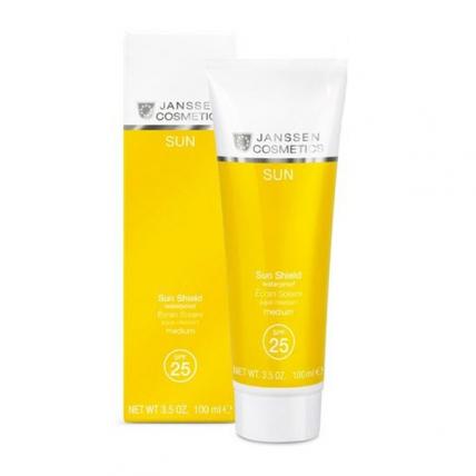 Janssen Cosmetics Sun Shield Waterproof SPF 25 - Эмульсия водостойкая солнцезащитная для лица и тела, 100мл