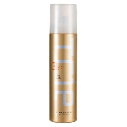 Lebel Trie Curl Foam 3 - Пена-мусс для укладки волос, 200гр