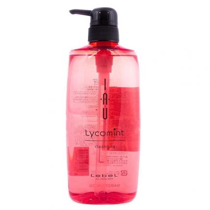 Lebel IAU Lycomint Cleansing - Шампунь освежающий антиоксидантный, 600мл