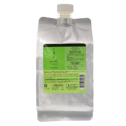 Lebel IAU Lycomint Cleansing Icy - Шампунь охлаждающий антиоксидантный, 1000мл