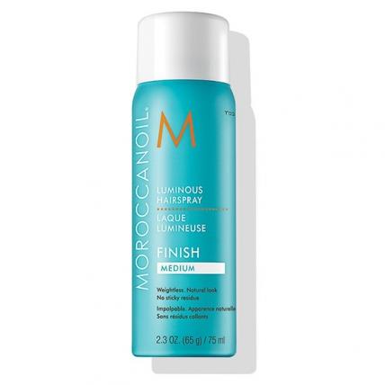 Moroccanoil Luminous Hairspray Finish Medium - Лак для волос, 75мл