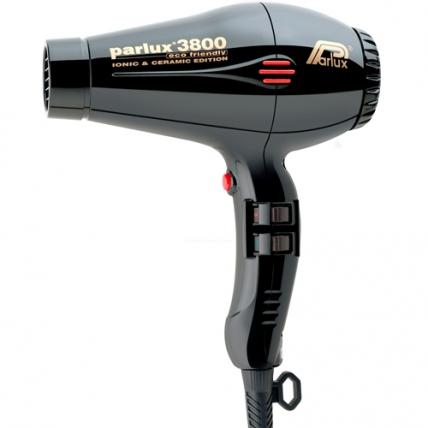 Parlux Eco Friendly 3800 Ion+Ceramic - Фен для волос (черный, 2100W)