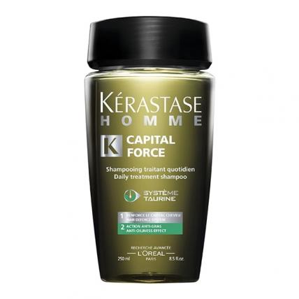 Kerastase Capital Force - Шампунь-ванна для жирной кожи головы, 250мл