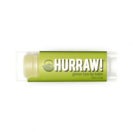 HURRAW! Green Tea - Бальзам для губ, 4,3мл