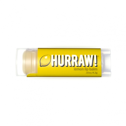 HURRAW! Lemon - Бальзам для губ, 4,3мл