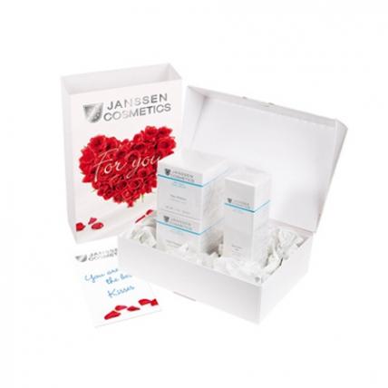 """Janssen Cosmetics Gift box """"For You"""" trio - Подарочный набор """"Для тебя"""", 3позиции"""