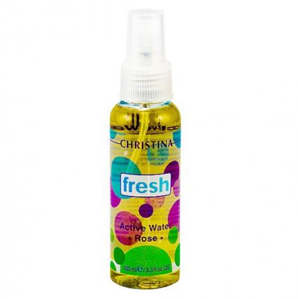 Christina Fresh-Active Rose Water - Активная розовая вода, 100мл