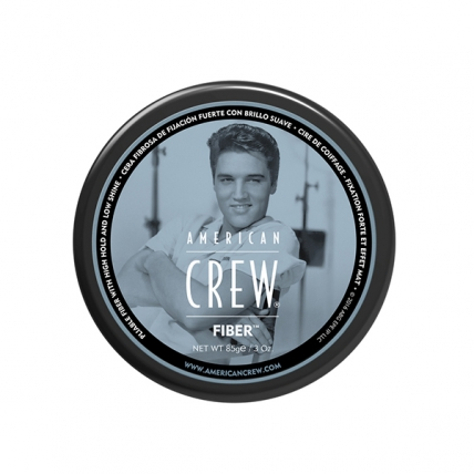 American Crew Fiber Gel - Паста для укладки волос и усов, 85г