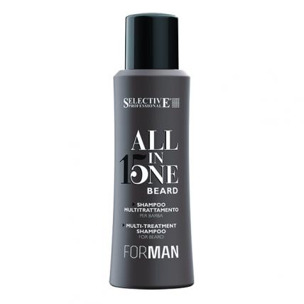 Selective Professional All In One Beard - Шампунь для ухода за бородой, 100мл