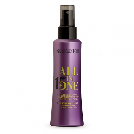 Selective Professional All In One - Маска-спрей 15в1 для всех типов волос, 150мл