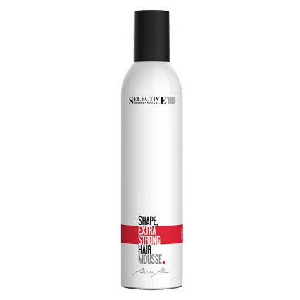 Selective Professional Mousse Shape Extra Strong - Мусс для волос экстра сильной фиксации, 400мл