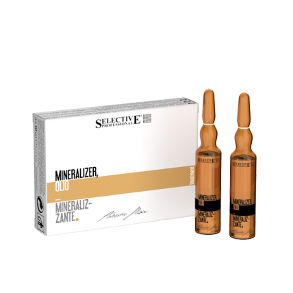 Selective Professional Olio Mineralizzante - Лосьон для волос реструктуириющий, 10*12мл