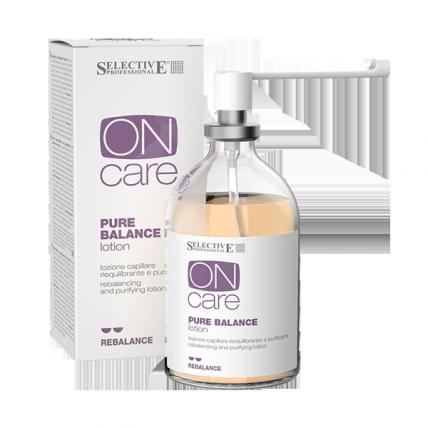 Selective Professional Pure Balance - Лосьон балансирующий для жирной кожи головы, 100мл