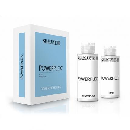 Selective Professional Powerplex - Набор для волос (Шампунь 100мл + Маска 100мл)