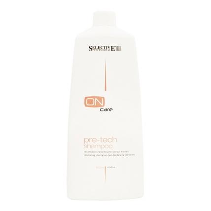 Selective Professional Pre-tech - Шампунь для подготовки волос к химической обработке, 750мл