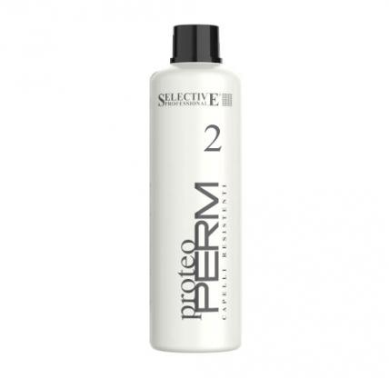 Selective Professional Proteo Perm 2 - Химическая завивка для слабых волос, 1000мл