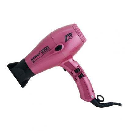 Parlux 3500 SuperCompact Ceramic&Ionic - Фен для волос (розовый, 2000W)