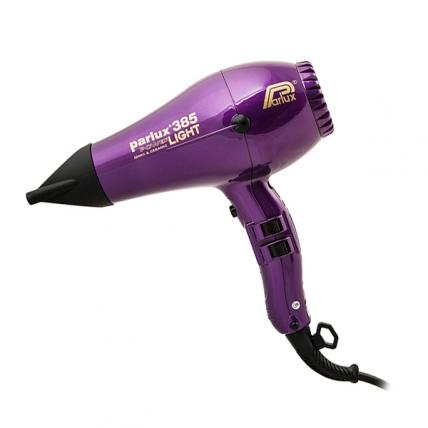 Parlux 385 PowerLight Ionic&Ceramic - Фен для волос (фиолетовый, 2150W)
