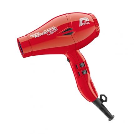 Parlux Advance Light Ionic Ceramic - Фен для волос (красный, 2200W)